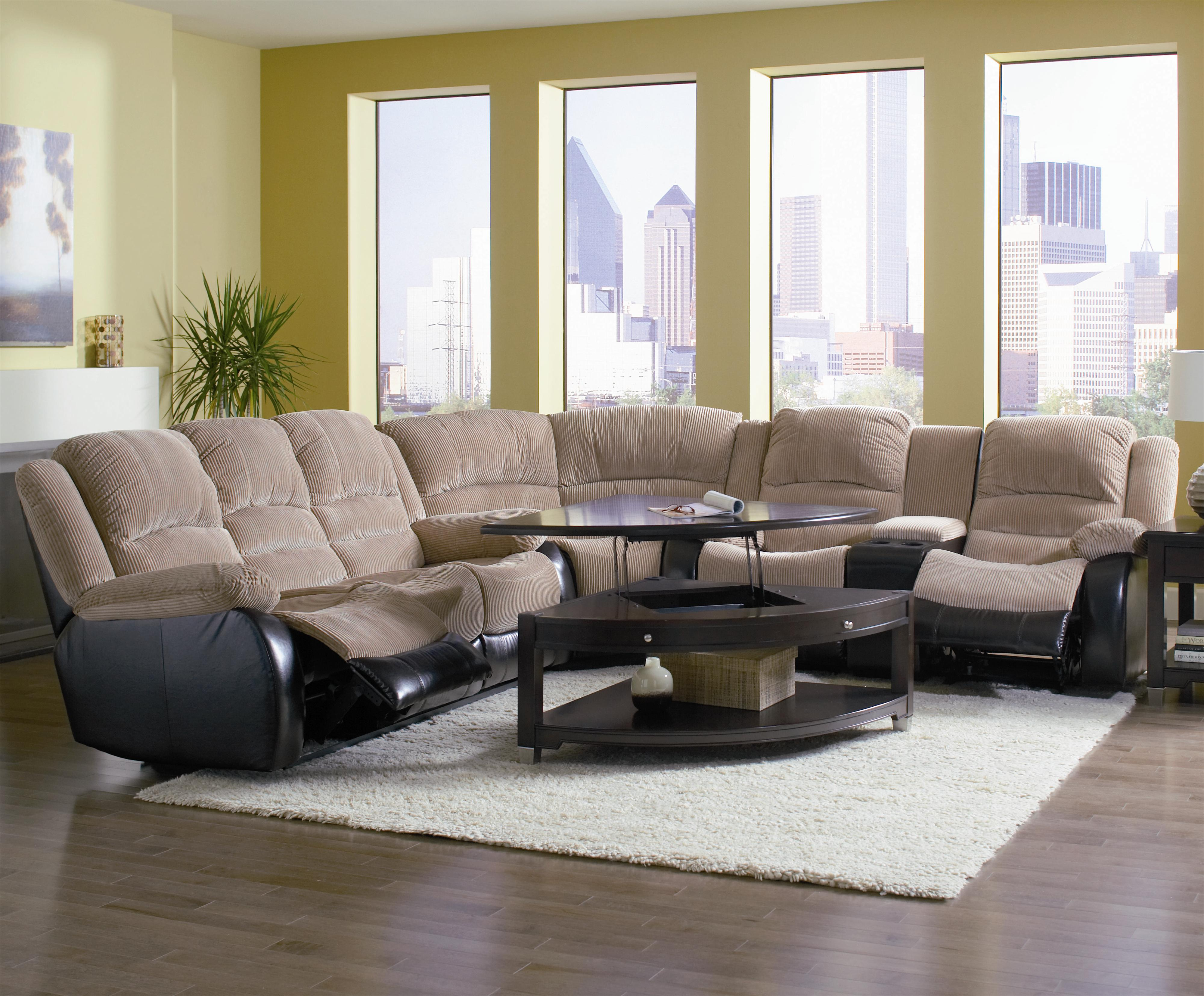 number match contemporary leather design by ashley item products reclining trendz sectional recliner power couch bradley ruby