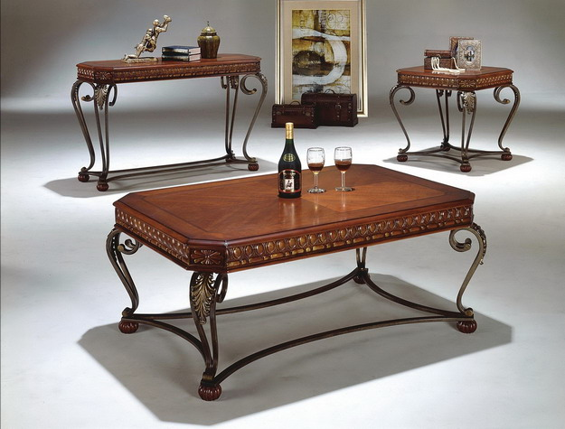 coffee table and two end tables sale 399