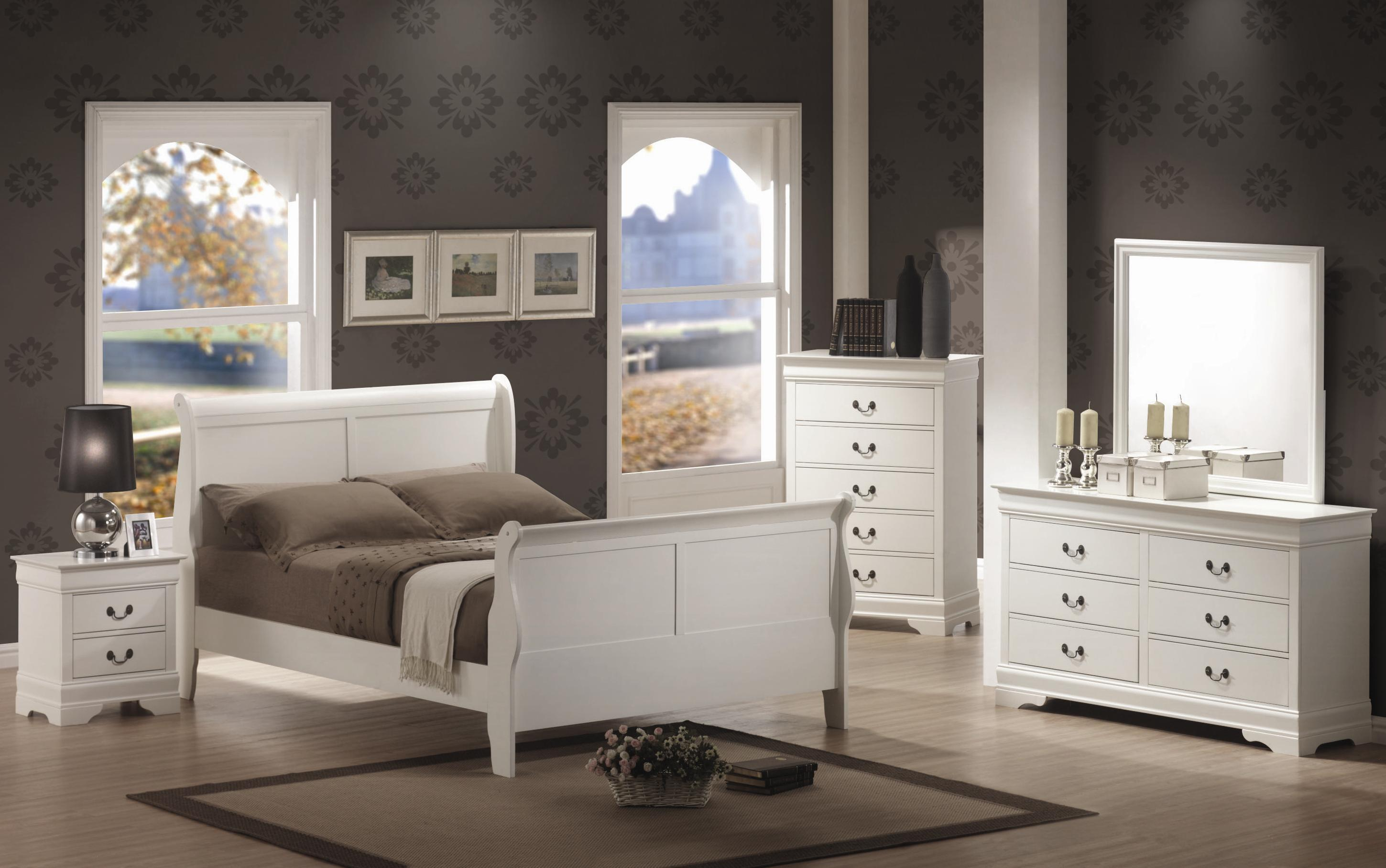 Modern Sleigh Bedroom Sets Page Title